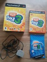 PlayStation 2 PS2 EyeToy Play 3 +  Eye Toy Camera Boxed pal
