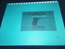 JIMENEZ ARMS, MODEL J.A. LC380 PISTOL.   OWNERS MANUAL,   20 PAGES
