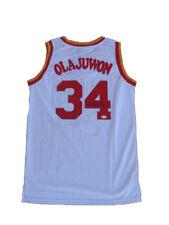 Hakeem Olajuwon Signed Houston Rockets HOME Jersey JSA