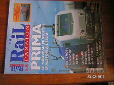 / Rail Passion n°45 PRIMA BB 427000 Pacific Chapelon Chine Bourreuse 09-3X