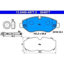 For Mercedes W447 Metris W906 Sprinter 2500 Front Brake Pad Set ATE 604877