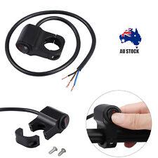 "12v Motorcycle ATV 7/8"" 22mm Handlebar Headlight Fog Spot light On Off Switch AU"
