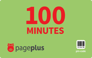 PagePlus  Prepaid $10  166  Minutes Refill Top-Up Prepaid Card ,PIN / RECHARGE