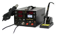 Update 853D SMD 3 in 1 Hot air Iron Gun Rework Soldering Station Welder 220V