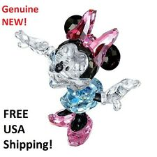 Swarovski Disney Minnie Mouse #1116765 Color Crystal Figurine NEW in Gift Box!