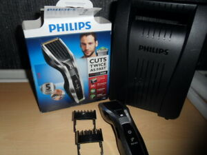 Phillips Mens Hair Clippers - Shaver Trimmer Cordless Electric Fast Quick Cut