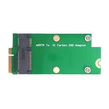 mSATA SSD Mini PCI-E to Sandisk SD5SG2 Lenovo X1 Carbon Ultrabook SSD Add Card