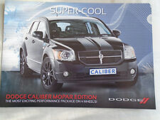 Dodge Caliber Mopar Edition brochure c2015??