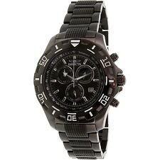 Invicta Men's Specialty 6412 Black Stainless-Steel Swiss Chronograph Dress Watch
