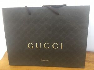 GUCCI Firenze 1921  Paper Bag  Large NEW