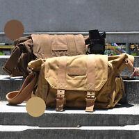 TARION Canvas Camera Case Shoulder Bag Backpack for Canon Nikon Sony DSLR