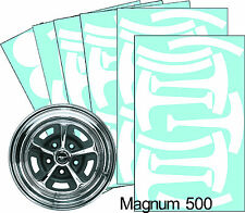 "Mustang Magnum 500 15"" Wheel Paint Mask Stencil Kit"