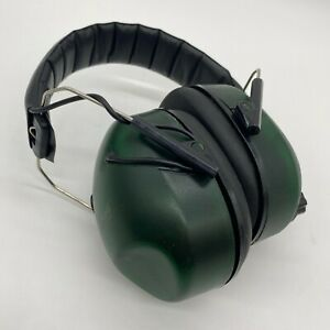 Caldwell Ear Protection Green Electronic Noise Cancelling Earmuffs Shooting 2