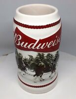 2016 Budweiser Holiday Stein Christmas Beer Mug from 3 years ago Annual series