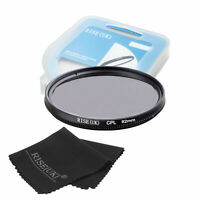 82mm CPL Polarizing Lens Filter for Canon Nikon Sony Pentax Sigma Olymp +CASE +C