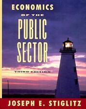 Economics of the Public Sector (Third Edition), Stiglitz, Joseph E., Acceptable