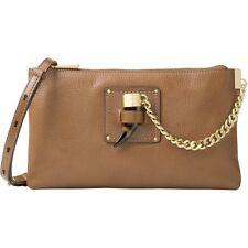 NWT Michael Kors James Large pebble Leather zip Clutch crossbody Bag R$248