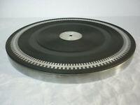 Für Plattenspieler PHILIPS 202 electronic: original Plattenteller mit Auflage