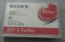 Lot of 2 SONY AIT-1 Turbo 40/104GB Data Tape Cartridge AIT1 TAIT1-40N