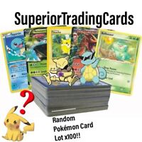 Random Pokemon Card Lot x100 OFFICIAL TCG Cards!GUARANTEED RARE/ULTRA/EX/GX/VMAX