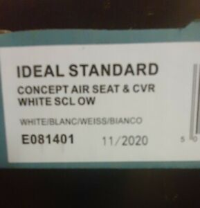 Ideal Standard Concept Air Seat And Cover E081481