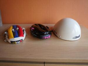 Vintage 3 cinelli helmets aérolite and others