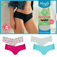 Sloggi 2 or 3 Pack Hipster Briefs 8-14 S-L Womens