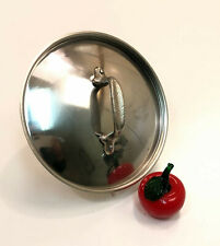 """All-Clad Original Metalcrafters Stainless Steel 8"""" Sauce Pan / Soup Pot Lid"""