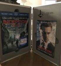Inception Limited Edition Steel Suitcase Blu-ray RARE!