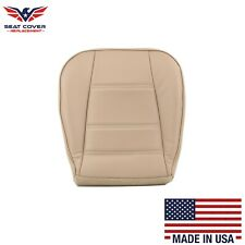 1999 2000 2001 02 03 2004 Ford Mustang V6 Driver Bottom Leather Seat Cover Tan