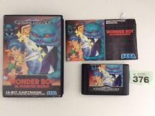 Sega Mega Drive Wonder Boy In Minster World