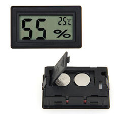 2018 new Car Auto Indoor Mini Digital LCD Thermometer Hygrometer Humidity Meter
