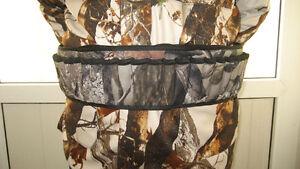 Shotgun Shell Belt 27 Round Neoprene Camo Shotshell Belt Hunting hunting pouch