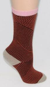 SOCKWELL - It's a Wrap - Wool Blend - Colorful Warm Comfy SOCKS  sz S / M *NEW