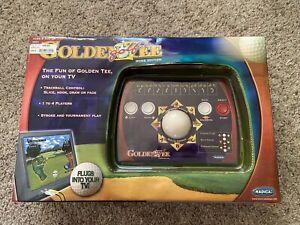 Golden Tee Golf Home Edition ~ Plug and Play ~ Radica Mattel ~ NEW ~ Box Damage