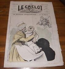 Le Grelot Journal Satirique N°145 Un Moderne Croquemitaine Par Le Petit 1874