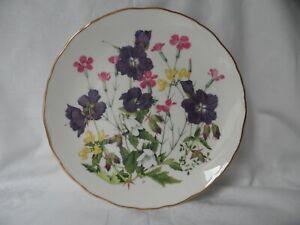 Royal Albert Meadow Pinks Blumen Motiv Bradex Wild Flower Teller Jo Hague 0443,