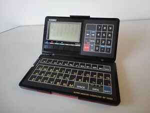 Casio SF-3000 Vintage Business Organizer Scheduling System