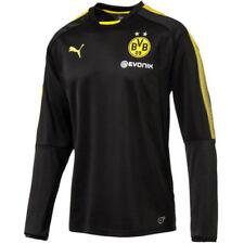 Camisetas de fútbol de clubes internacionales de manga larga en negro