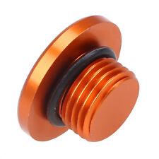 Orange Engine Oil Filler Plug Bolt Screw Case Cover for KTM Duke 125 200 390