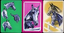 HORSE SWAP/PLAYING CARDS X3 ALL VINTAGE COLLECTABLE CARDS (MINT)