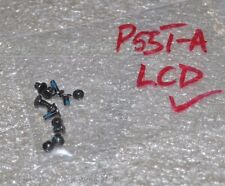 """TOSHIBA Satellite P55T-A5118 15.6"""" Laptop LCD Assembly Screws"""