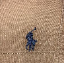 "NWT Polo By Ralph Lauren Men's 6"" Classic-Fit Drawstring Shorts Size XL Khaki"