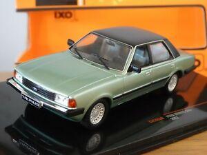 IXO FORD TAUNUS GHIA (CORTINA MK5) GREEN & BLACK 1983 CAR MODEL CLC363N 1:43