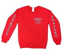 Red Support 81 Sweatshirt