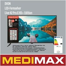 Dyon Live 42 Pro X HD+ Edition 42 Zoll Fernseher TV NEU&OVP Blitz VERSAND!