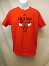 New-Minor Flaw Chicago Bulls Adidas Youth Sizes Large L 14/16 Red Shirt