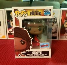 Funko Pop Disney Marvel Okoye Blqck Panther NY Comic Con Exclusive Chase