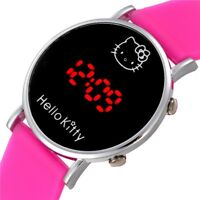 New Womens Watch Hello Kitty Digital Display Fashion Girl's  Electronic Watches