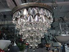 CASCADE CHANDELIER FRENCH COUNTRY PENDANT 6 LIGHT VINTAGE Basket LOUNGE DINING